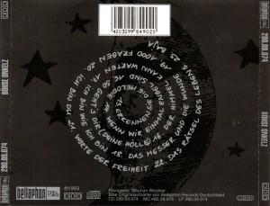 Böhse Onkelz - Schwarzes Album - Back