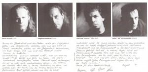 Böhse Onkelz - Wir Ham´ Noch Lange Nicht Genug - Booklet (2-4)