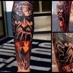 2015-07-17 Tattoo linke Wade