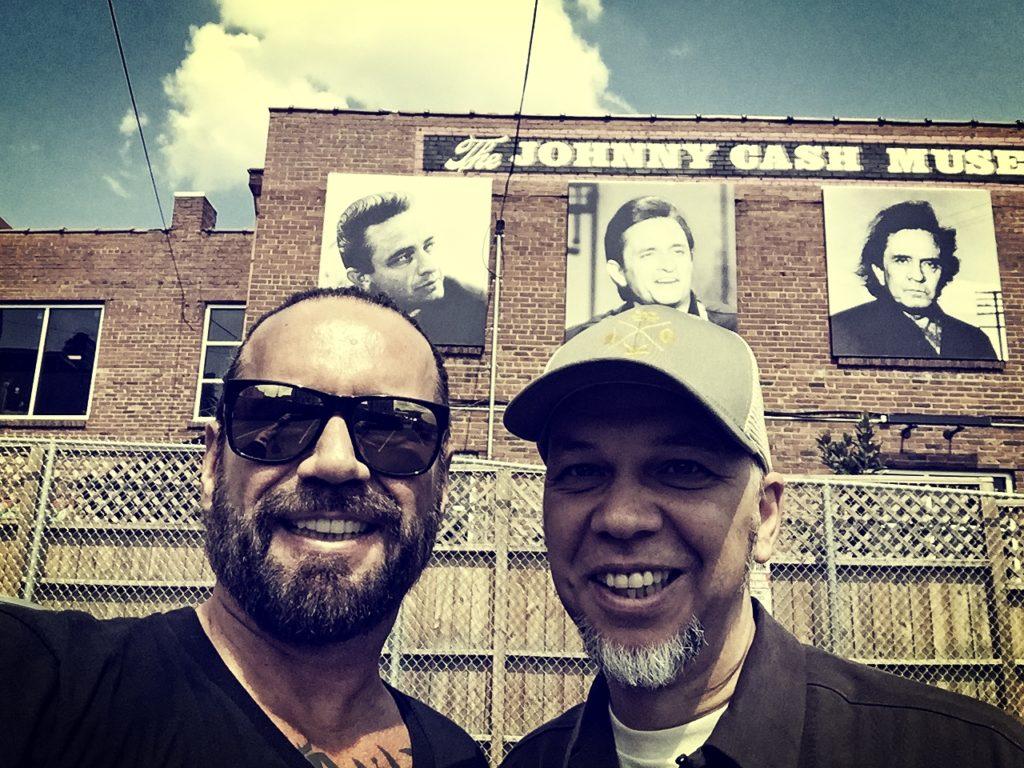 Gonzo W und Johnny Cash