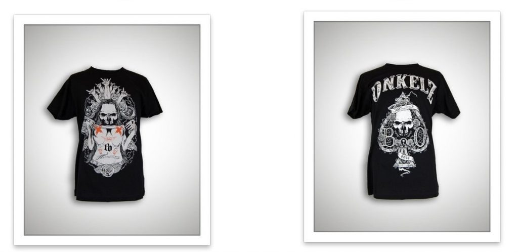 neue shirts matapaloz b hse onkelz. Black Bedroom Furniture Sets. Home Design Ideas